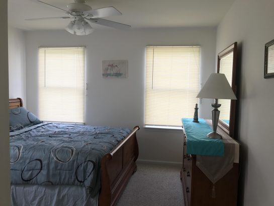 Large 2nd BR with queen bed , with lots of closet space