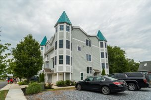 Luxurious Townhouse is located at the Cape May Marina