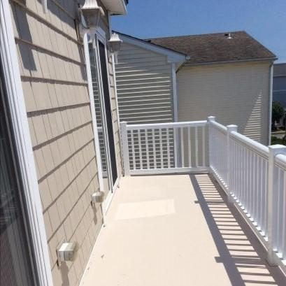 Deck off Master and 2nd Bedroom