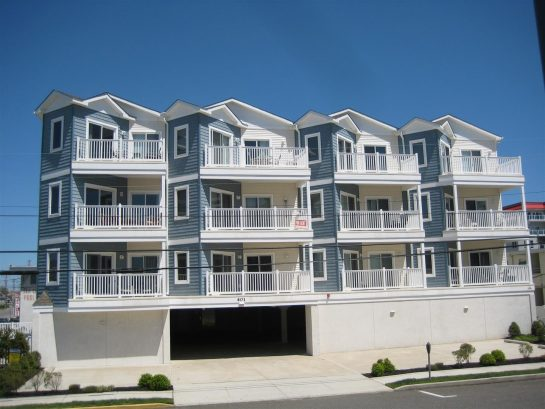 The Tahitian Condo Building, Wildwood Crest