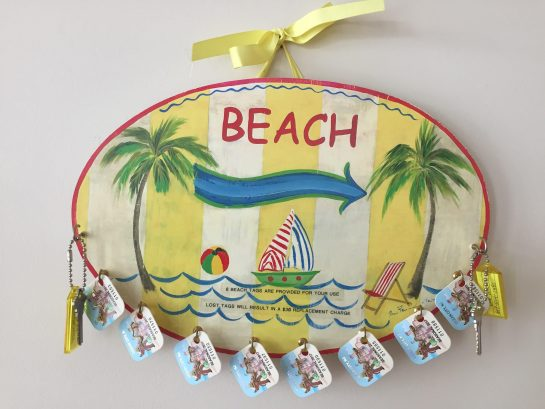 Eight (8) beach tags are included for your stay saving you up to $80.