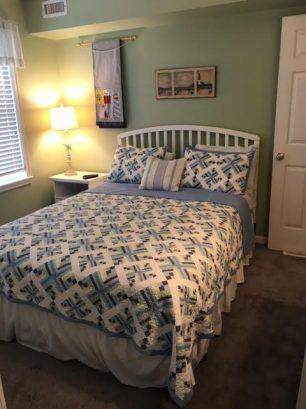 Downstairs Bedroom; Queen Bed
