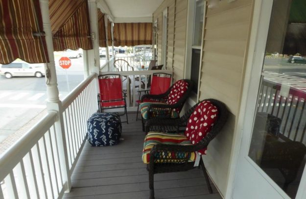Sit back and relax on the porch