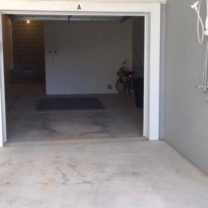 Garage, carport & shower