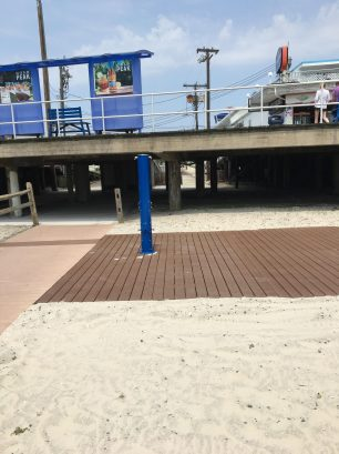 23rd Ave Beach Walkway & Shower
