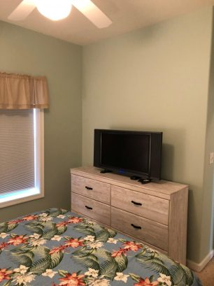 All bedrooms have HDTVs