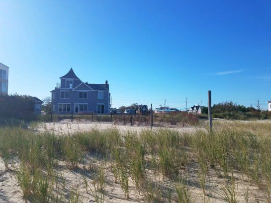 House View from Beach
