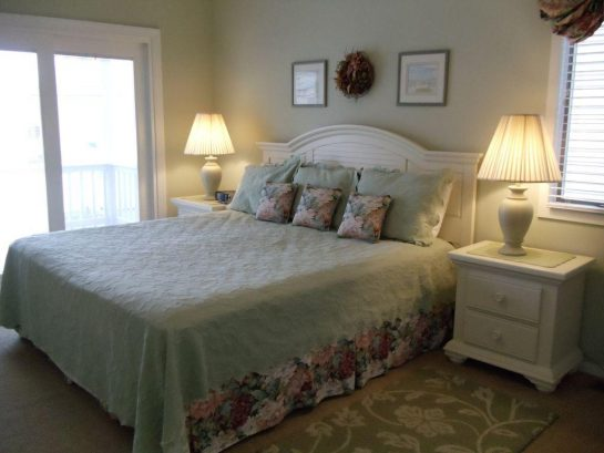 Spacious Master Bedroom With King Bed and Private Bath