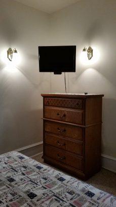 Bureau and TV view