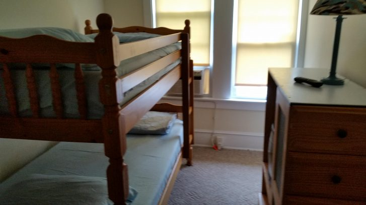Bedroom 3rd Floor with Bunk bed with 2 twins