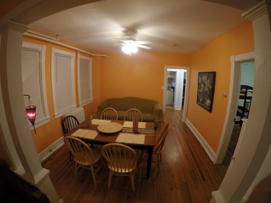 1st floor unit dining room
