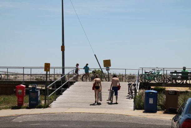 18th Street boardwalk ramp
