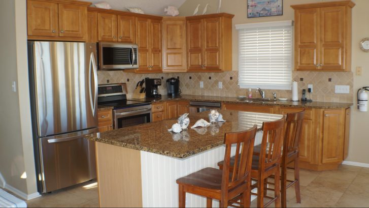 Brand New Stainless Steel Appliances - plus granite counters, ceramic tile floors, and every kitchen accessory you can think of - all for your use.