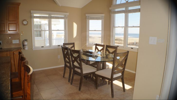 Check out the views through the dining area windows!