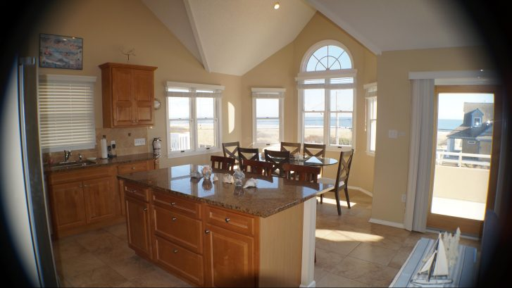 Dining Area - with seating for 10 people - with stunning Ocean Views