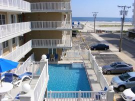 Summer Sands- Ocean View in Wildwood Crest - Sleeps 6- Off season rates available.
