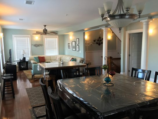 Very spacious Dining room and living room