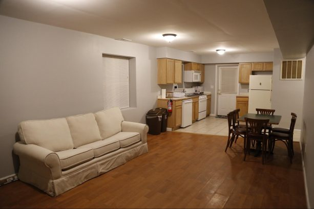 201 - Unit C: Living Room / Kitchen