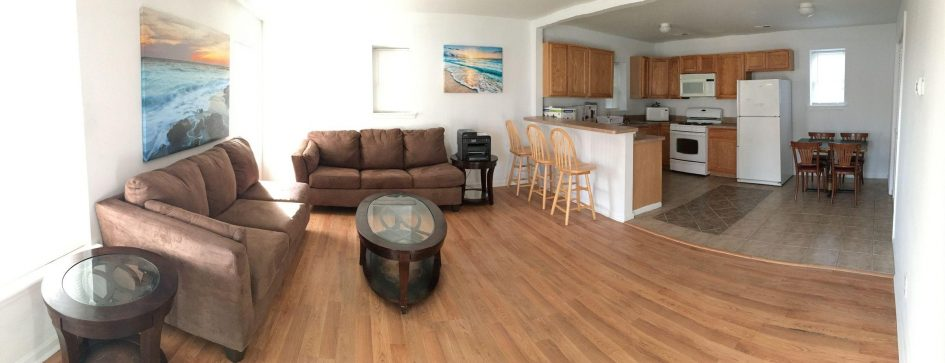 205-Unit B: Living Room / Kitchen