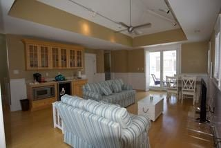 4TH FLOOR FAMILY ROOM WITH WET BAR,  MICROWAVE AND BEVERAGE FRIDGE)