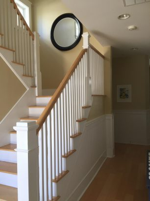 STAIRWAY TO LIVING AREA
