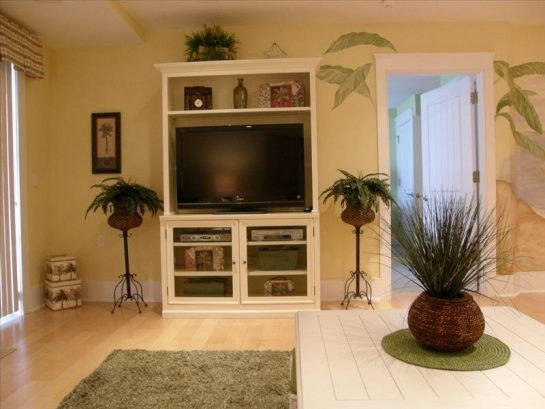 Professionally Decorated Living Area