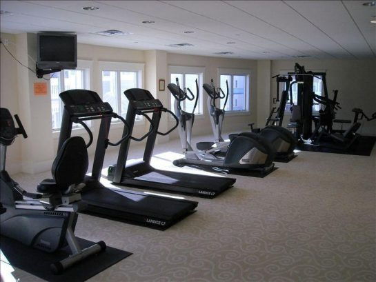 No Excuse Not to Exercise on This Vacation in our 2nd floor fitness center!
