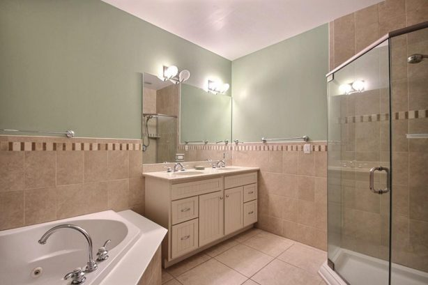 One of Two Master Baths