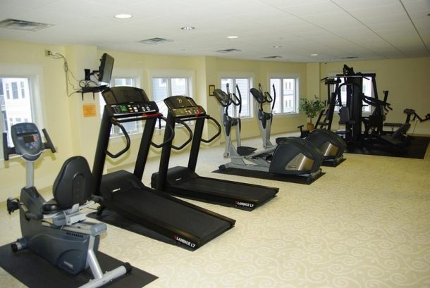 One View of the Exercise Room