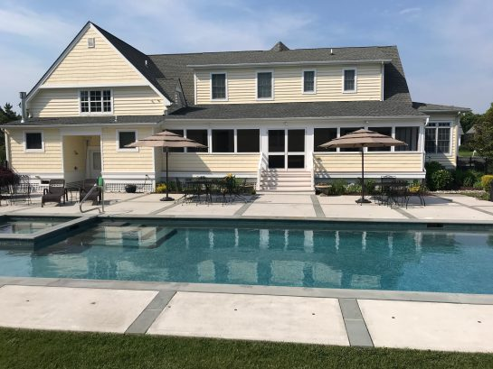 LUXURIOUS CAPE MAY CANAL VIEW HOME WITH 46' SALT WATER POOL MINUTES FROM CAPE MAY BEACHES