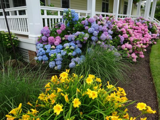 Porches and gardens are a welcoming retreat.