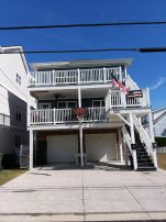 Beautiful, spacious beach block home. Best seat in Wildwood for Friday night fireworks!
