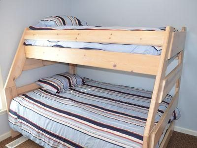 Bunk beds Double on bottom twin on top