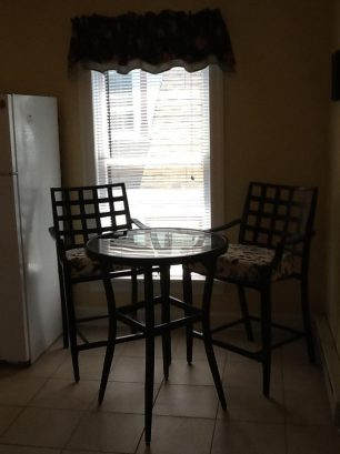 Kitchen high top dining table