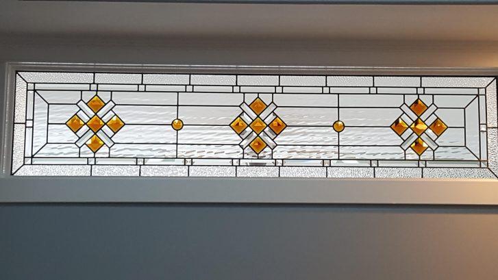 3rd floor master - custom transom window