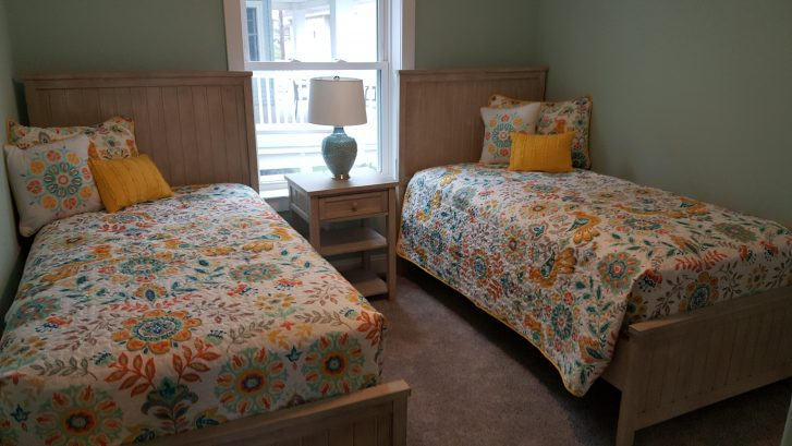 1st floor twin room with trundle bed