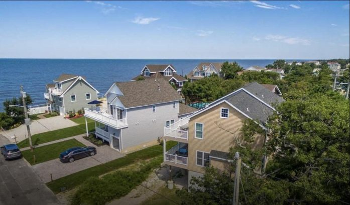 Cape May/Villas Beach Getaway with Gorgeous Bay Views and only Steps to Beach!