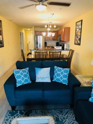 Family Room, Dining Room, and Kitchen Areas