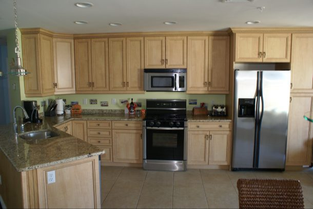Tile Floors, Granite Countertops, Custom Kitchen