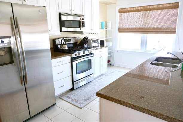 Fully Functional Kitchen w/Stainless Steel Appliances  & Granite Countertops