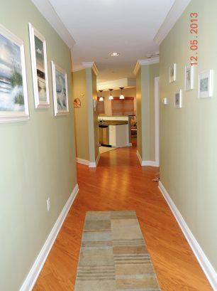 Foyer/Hallway View Entering the Condo