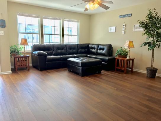 New Hardwood Floors Throughout