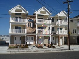 North Wildwood Beach Block 4 Bedrooms
