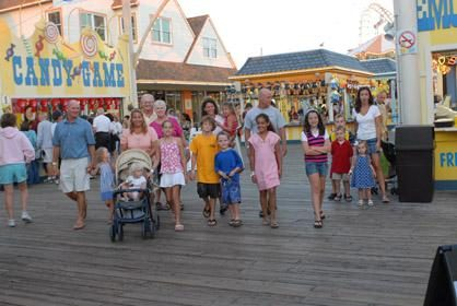 Family Boardwalk Fun
