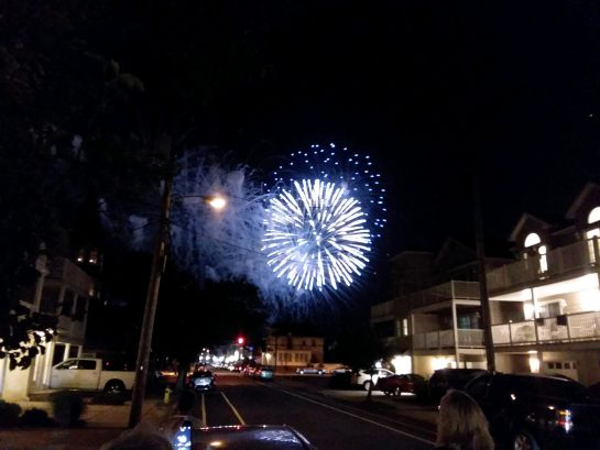 Fireworks From 221 Glenwood