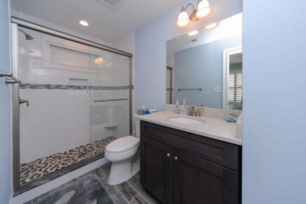Bedroom # 2 en suite bathroom with walk in shower
