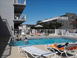 Legacy Condominium, 715 Plymouth Place, Pool in heart of Ocean City