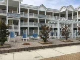 2 BR, 2 Bath Lavallette Condo with Pool, One Block from Beach, Ocean View, Sleeps 6