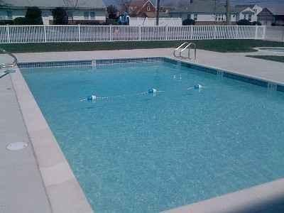 One of the Largest swimming pools in Wildwood