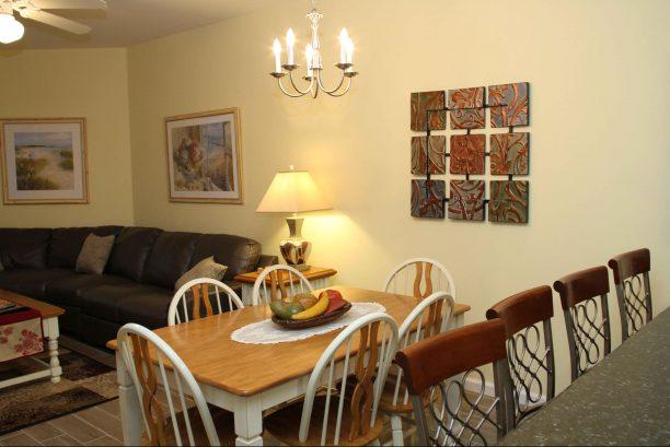 Dining area accomodates 10 seats